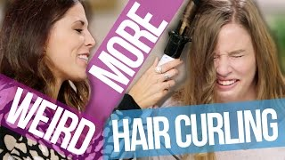 5 More Weird Ways to Curl Your Hair