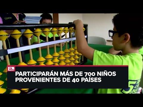 Cinco niños representarán a México en concurso de cálculo mental en China
