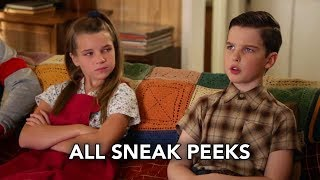 "Young Sheldon 3x05 All Sneak Peeks ""A Pineapple and the Bosom of Male Friendship"" (HD)"