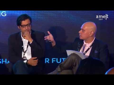 Arnab Goswmi on the debates takes  Raghav Bahl and Samir Bangara