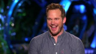 Jurassic World Chris Pratt & Colin Trevorrow Interview Each Other