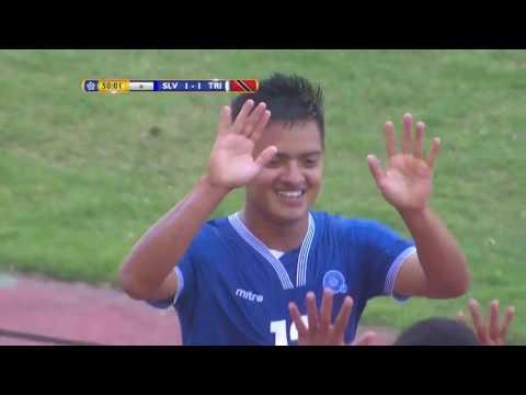 GOAL El Salvador, José CONTRERAS No. 12 | @FesFut_SV @TTFootballAssoc #CU20CRC