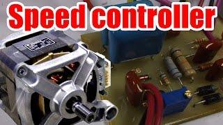 Facile de circuit! Comment faire de Moteur à courant alternatif régulateur de Vitesse (Partie 1)