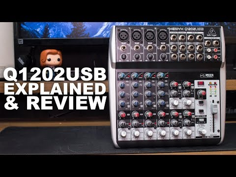 Behringer XENYX Q1202USB Mixer Review / Test / Explained