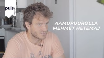 Aamupuurolla Mehmet Hetemaj