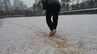 사이드 호핑 이동 연습…