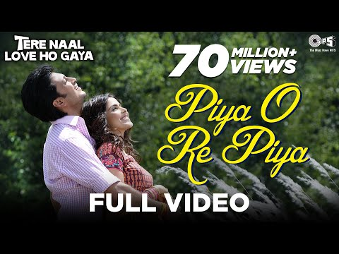 Piya O Re Piya Song Video | Tere Naal Love Ho Gaya | Riteish & Genelia | Atif Aslam & Shreya