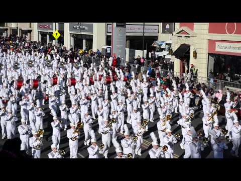 The Rose Parade 2015 Marching Bands in 23 Minutes
