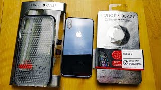 protection iPhone X/XS : Force Glass et Force Case, mon retour