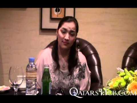 Ara Mina interview from Rakabayan 2 in Doha Qatar 02