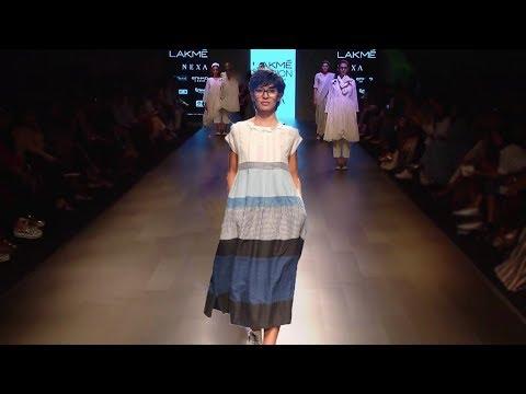 Tillotama Shome Walks For Maku | Spring/Summer 2018 | Sustainable Fashion | Lakme Fashion Week