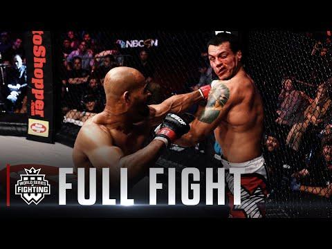 #WSOF33: David Branch vs. Vinny Magalhaes Full Fight