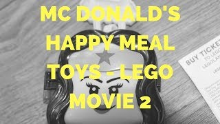Mc Donald's Happy Meal Toys - Lego Movie 2 February 2019 Number 3