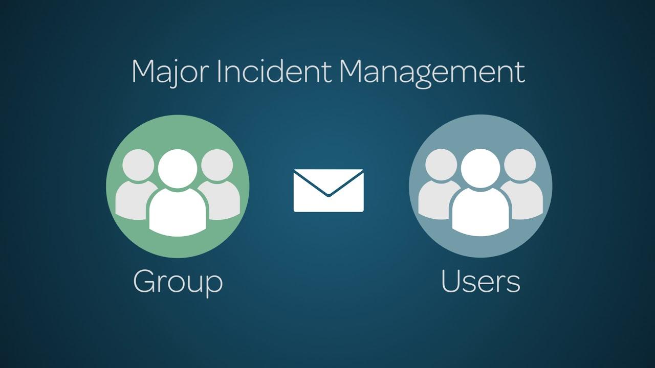 Incident Management Major Incident Management