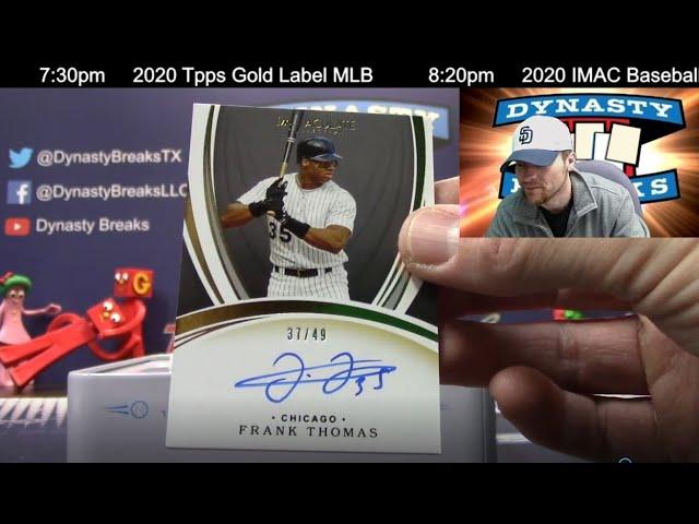 2020 Immaculate Baseball Card 8 Box Case Break #4   Sports Cards