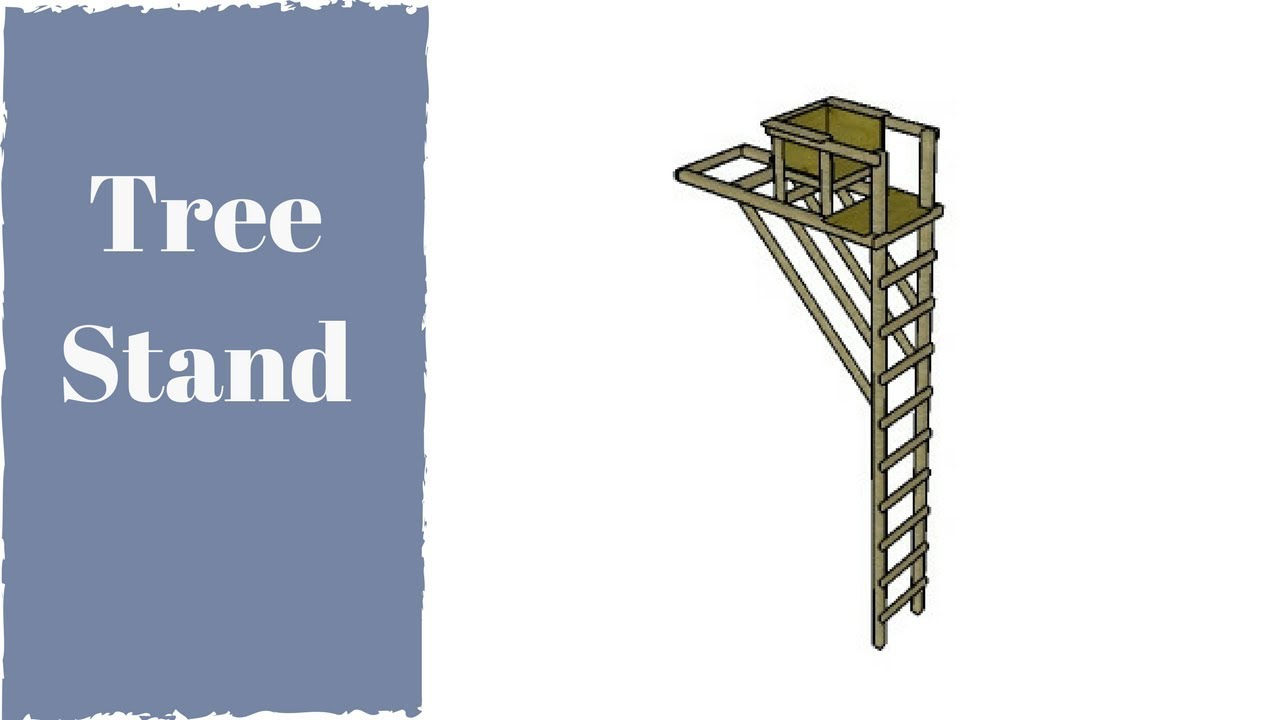 Tree Stand Designs Free : Free tree ladder stand plans youtube