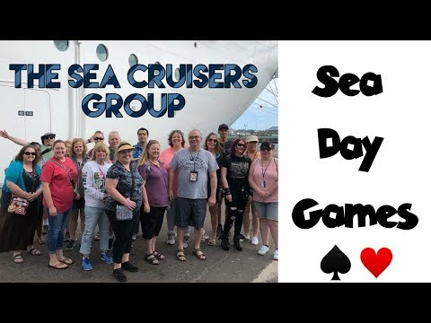 Gift Exchange • Marriage Game • Cards | Sea Cruisers Group Cruise ♦️ MSC Seaside [ep23]