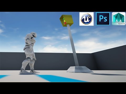 Basic Game prop workflow, from model to Game Engine
