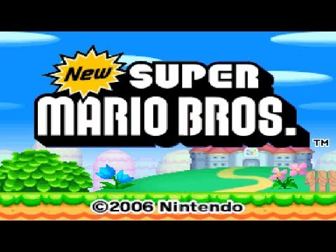 Nintendo DS Longplay [002] New Super Mario Bros.