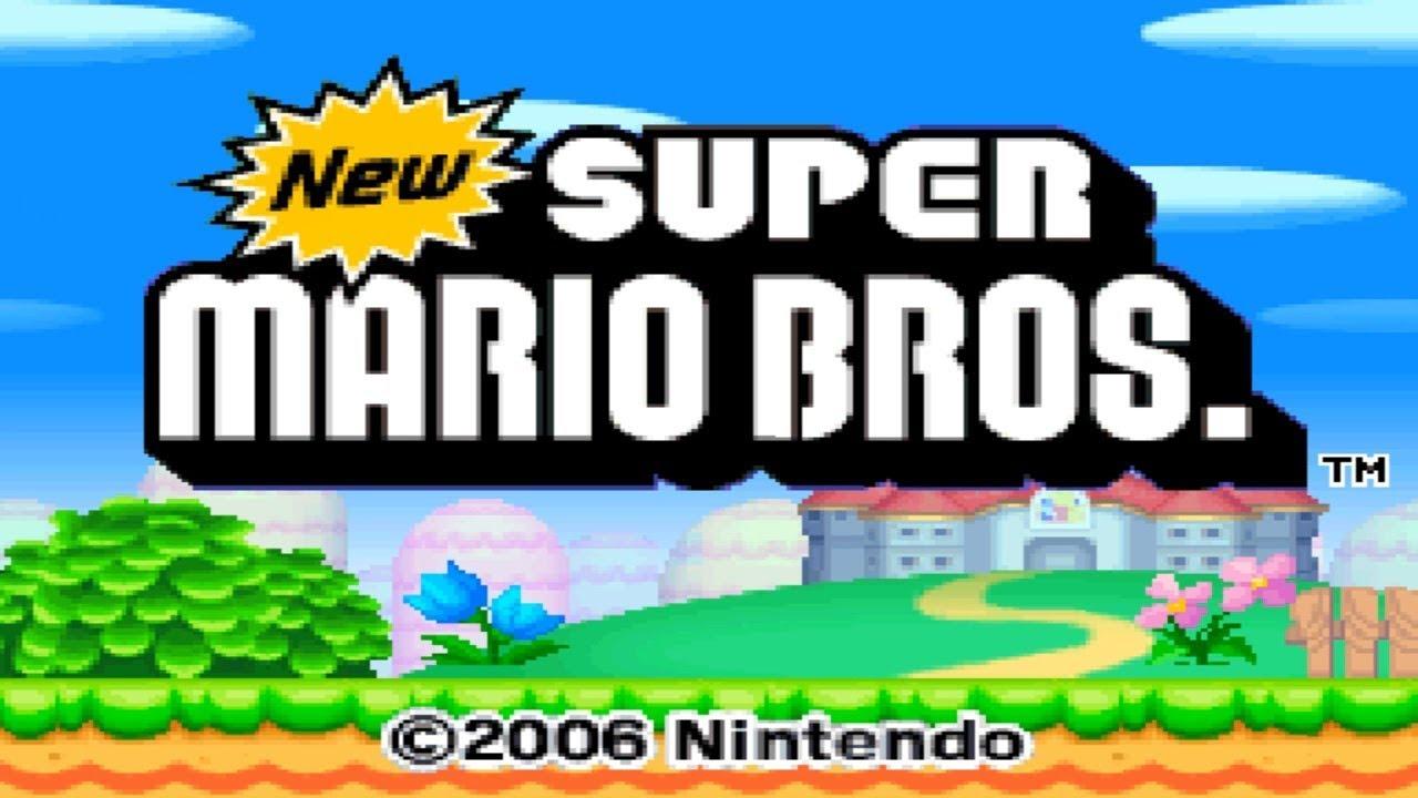 Nintendo DS Longplay [002] New Super Mario Bros