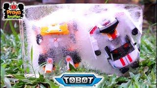 Drama Tobot X dan V Membeku Jadi Es, Misi Penyelamatan oleh Tobot Zango & Ambulun | Tobot Indonesia