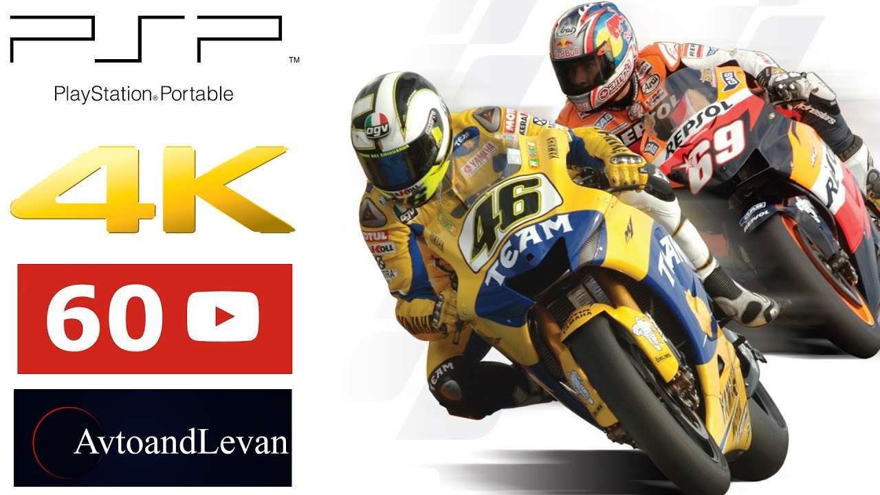 Moto Gp Psp 4k Gameplay Youtube