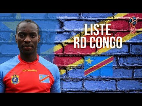 Eliminatoires CM 2018 | Liste des 23 de la RD Congo face à la Libye