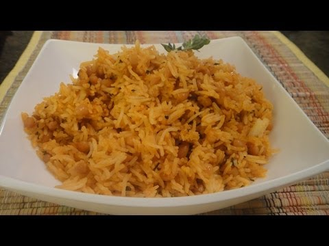 Herbed baked Bean Rice
