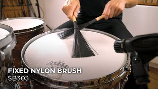 MEINL Stick & Brush Fixed Nylon Brush SB303