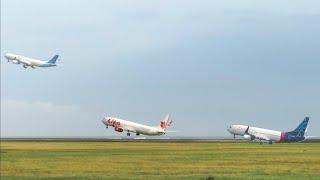 Take Off Bali, Pesawat Batik Air - Sriwijaya Air G