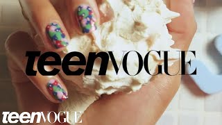 How To Achieve Tye Dye Nails | Teen Vogue