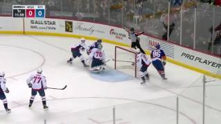 Washington Capitals vs. New York Islanders 12-27-16 Cal Clutterbuck GOAL