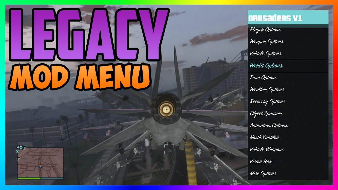 GTA 5 Online quotLEGACY MOD MENU 127 DOWNLOAD PS3 360