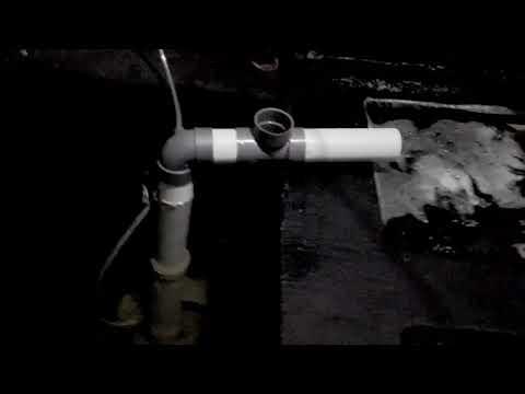 Pompa hemat listrik dari pvc dengan aerator 17 Watt ( airlift pump )