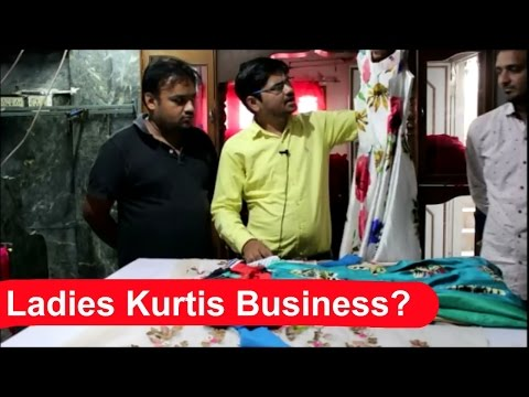 Ladies Kurti's Business - Vlog Surat Part 3 Buy On Cheapest Rates