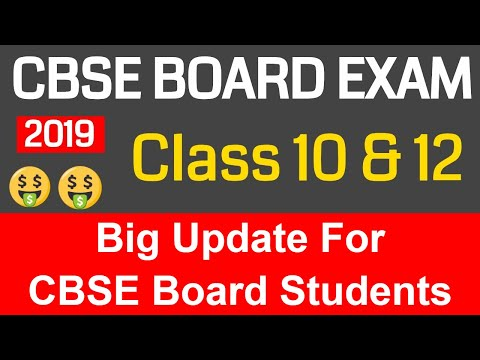 Big Announcment By CBSE Board   Big Update For Class 10 & 12 Students Mp3
