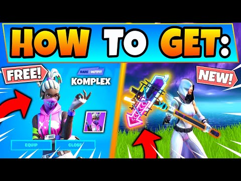 HOW TO GET KOMPLEX *FREE* In Fortnite + Street Shine Pickaxe! - Free Skins In Battle Royale!