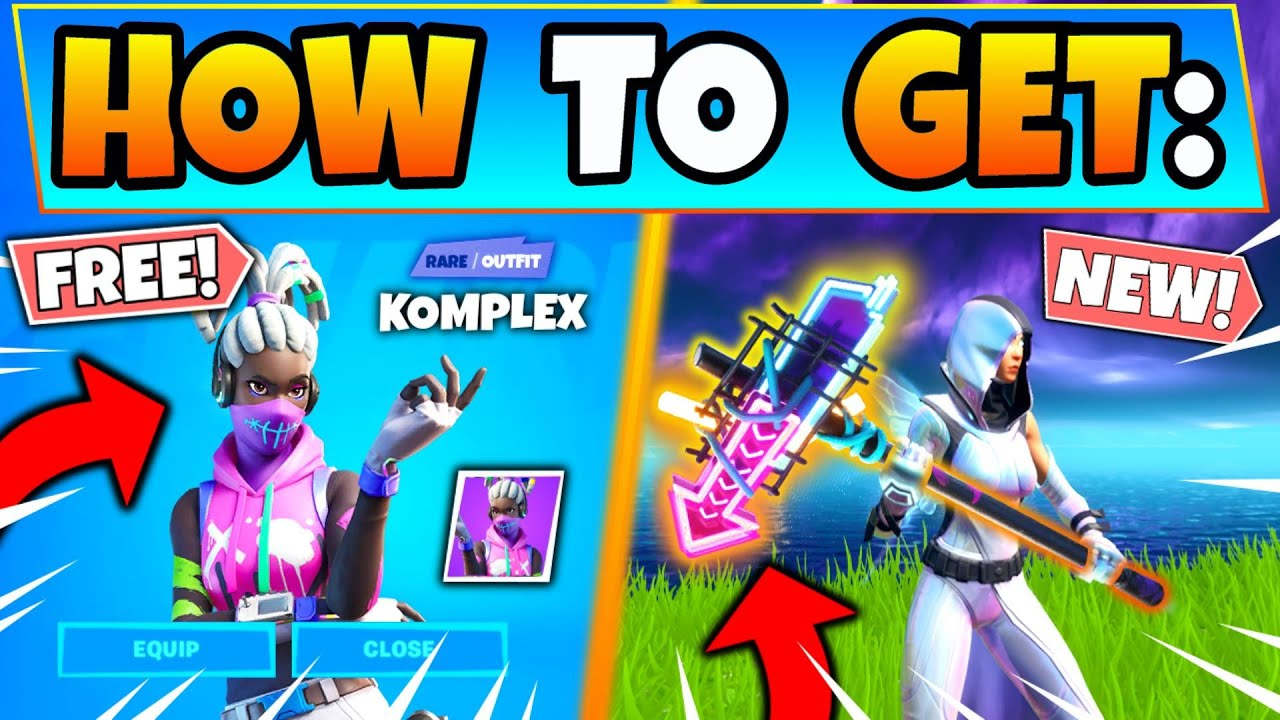 How To Get Komplex Free In Fortnite Street Shine Pickaxe Free Skins In Battle Royale Youtube Free skins generator fortnite 8 free skin. how to get komplex free in fortnite street shine pickaxe free skins in battle royale