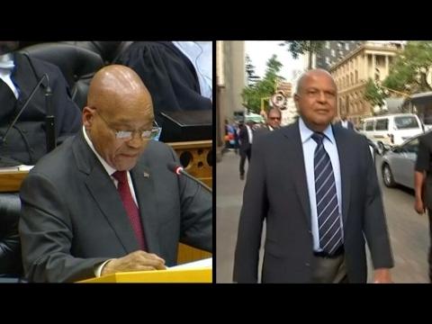 President Zuma set to sack finance minister Gordhan