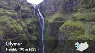 Top 10 Waterfalls of Iceland (DJI Phantom 2 and GoPro HERO3+)