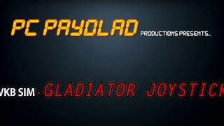 vkb sim gladiator joystick unboxing and overview