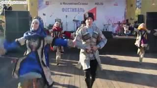 Фольклорный народный танец женихов и невест Дагестана (государственный ансамбль песни и танца).