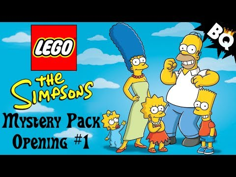 LEGO Simpsons Minifigure Mystery Pack Openings Part 1