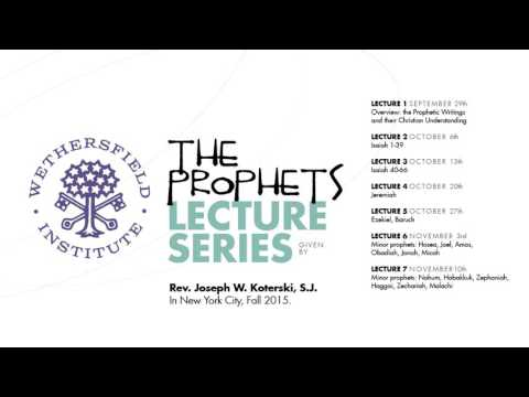 The Prophets 2: Isaiah 1-39