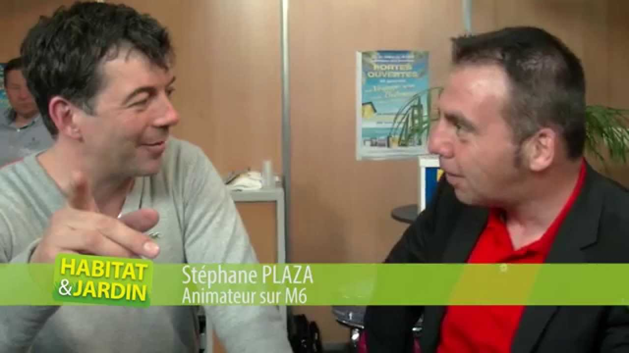 St phane plaza au salon habitat jardin chamb ry 2014 for Salon habitat chambery