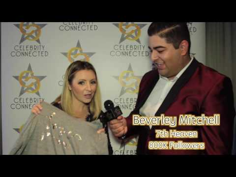 Beverley Mitchell Interview at Celebrity Connected Honoring the AMAs 2016