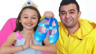 Öykü and Dad - Surprise for Cinderella Princess