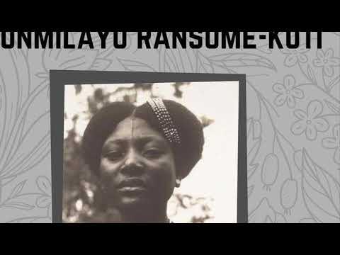 Black Heroes Funmilayo Ransome Kuti