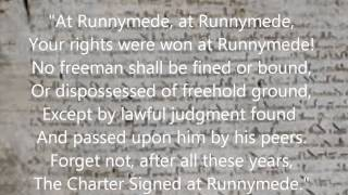 """The Reeds At Runnymede"" by Rudyard Kipling read by Farnham Town Crier"
