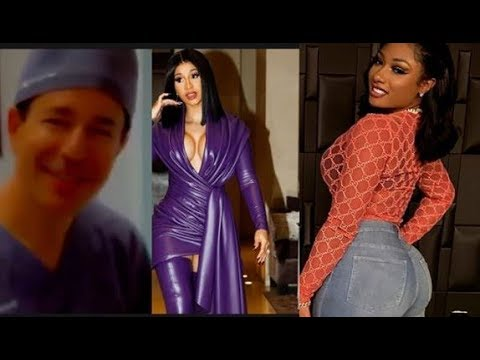 Cardi B Talked Megan Thee Stallion Odor Megan Check Doctor Da Product Dvd Youtube